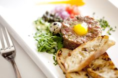 Steak Tartare, all fresh and natural beef, an ole Jockey Club recipe with a fresh twist. Make a reservation http://www.2100prime.com/reservations  fine dining in Washington, DC