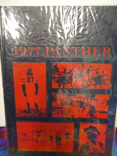 1977 Panther Pascagoula High school yearbook Pascagoula, Mississippi unmarked