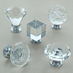 Crystal Cabinet Knobs Glass Kitchen Cupboard Knobs by G Decor, the perfect gift for Explore more unique gifts in our curated marketplace. Glass Drawer Knobs, Cupboard Door Knobs, Kitchen Cabinet Knobs, Glass Kitchen, Kitchen Cupboards, Kitchen Decor, Knobs And Handles, Knobs And Pulls, Bandeja Perfume