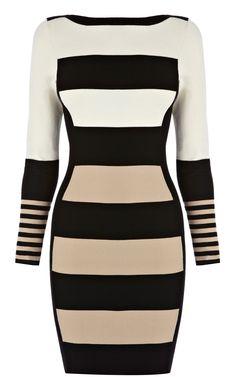 Multi Long sleeve stripe knit | KarenMillen Stores Limited