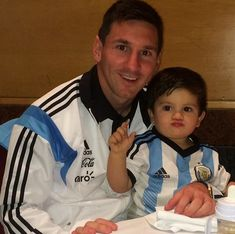 #cute #thiagomessi #with #leomessi