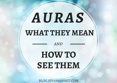 "You may not realize this, but at one point you sensed someone's aura; but you may have called it a ""feeling"" or a ""vibe""."