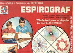 Nunca consegui fazer!! A maior frustração! Infância Anos 80 e 90: Os lindos desenhos do Espirograf