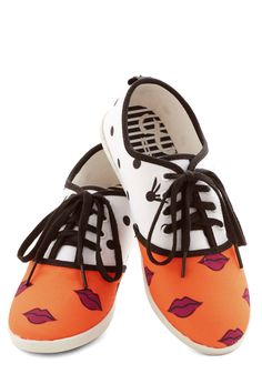 Quirk It Sneaker in Lips. Make the sidewalk your runway by wearing these whimsical, printed sneakers from DV8 by Dolce Vita! #multi #modcloth
