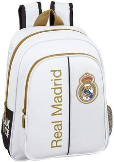 Real Madrid, Fashion Backpack, Backpacks, Futuristic Vehicles, Bag, School Backpacks, Backpack, Backpacker, Backpacking
