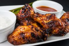 These Cajun smoked wings are deliciously smokey and spicy with a slightly sticky sweet sauce. The most incredible wings you will ever have.