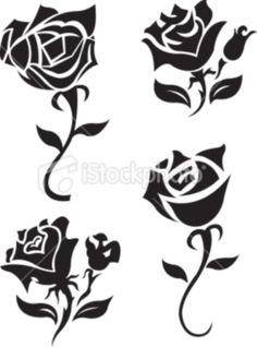 pictures of black rose tattoos star tattoo on back