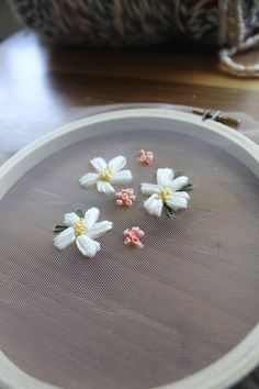 Embroidery on tulle is so beautiful but it can be a challenge, so I've put together some tips on how to successfully hand embroider on tulle fabric!