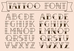 https://www.vecteezy.com/vector-art/102118-old-school-tattoo-type-vectors Old School Tattoo Type Vectors