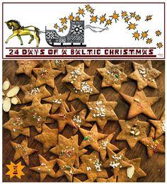 The Latvian Christmas cookie! Femme au foyer: A Baltic Christmas Day 5 - Piparkūkas!