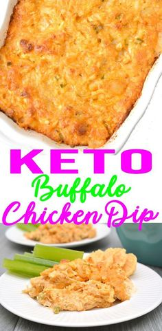 Keto Buffalo Chicken Dip – EASY Low Carb Ranch & Shredded Chicken Buffalo Dip Recipe – BEST Snack or Parties Dip Idea - Appetizer Recipes - Best Chicken Recipes Buffalo Chicken Dips, Poulet Sauce Buffalo, Buffalo Chicken Dip Recipe, Low Carb Appetizers, Appetizers For Party, Appetizer Recipes, Dinner Recipes, Chicken Appetizers, Appetizer Ideas