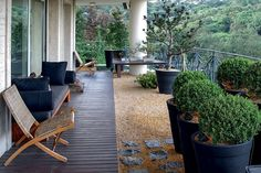 Gorgeous design for a balcony with no yard