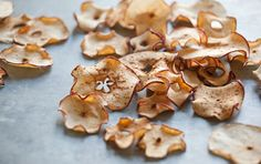 Dried apples are great for snacks and lunchboxes. You can also toss them into a spinach salad with nuts and grapes, serve with roasted pork or alongside a sandwich as you would chips.