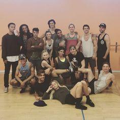 "Photos: ""Teen Beach 2″ Cast Rehearsing June 16, 2015 - Dis411"