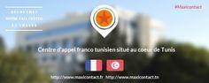 Le centre d'appel Maxicontact se lance à la conquête des donneurs d'ordre français [communiqué de presse]