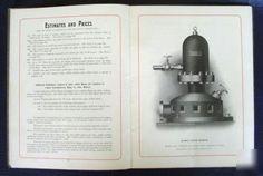 John Blake Hydraulic Rams Sales Brochure Water Pumps  John Blake