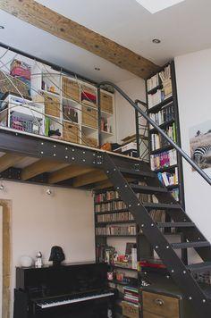 escalier industriel-ox-idee-mobilier-industriel-acier-lyon-metallerie