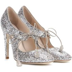 Bottega Veneta Glitter Pumps (11 520 UAH) ❤ liked on Polyvore featuring shoes, pumps, heels, bottega veneta, scarpe, silver, silver shoes, glitter heel shoes, silver glitter shoes and silver heeled shoes