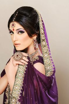 A A I N A - Bridal Beauty and Style: The Bride's Lookbook: Bridal Makeup Inspiration from Khawar Riaz Bridal Hair, Makeup and Photography