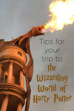 Tips for your trip to the Wizarding World of Harry Potter - More Than Thursdays