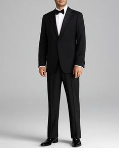 Armani Collezioni Giorgio Notch Lapel Tuxedo Suit - Regular Fit | Bloomingdale's