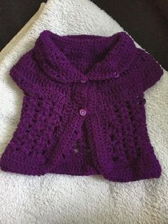 Free crochet baby cardigan pattern                                                                                                                                                                                 More