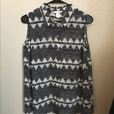 H&M blouse Never worn! Size 38 equals a Medium! (Or a size 8)  H&M Tops Blouses