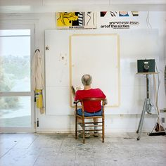 Roy Lichtenstein's Southhampton studio