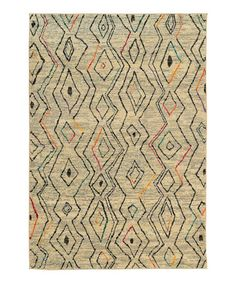 Take a look at this Ivory Wayfarer Rug on zulily today!