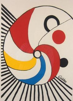 ALEXANDER CALDER SCREENPRINT Sold for $150