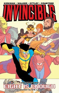 Invincible, Vol. 2: Eight is Enough by Dave Johnson. $7.00. 131 pages. Publisher: Image Comics (January 24, 2012)