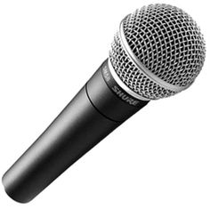 Shure SM58-LC Dynamic Vocal Microphone, the SM58 (cable not ...
