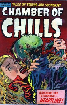 Comic Book Cover For Chamber of Chills Magazine #23