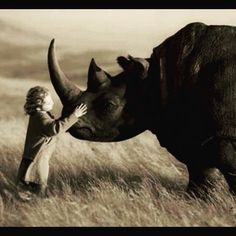 Love is everything #respectnature #conservation #natureisgreat #poaching #rhinos #animalsdeserverespect #sustainability #balance #love #alternachievement Re-post by Hold With Hope