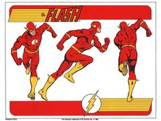 The Flash character model