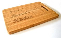 Personalised  Chopping Board Laser Engraved  -Mothers Day, Birthday, Weddings, Special Events