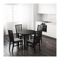 IKEA - BJURSNÄS, Tafel, Het tafelblad is bedekt met melamine; geeft een duurzaam en makkelijk te onderhouden oppervlak.Plaats voor 4 personen.