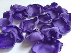 Periwinkle rose petals, purple flower petals, table decoration, baby shower decor, bridal shower decor