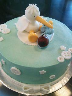 Stork Cake by CupCakeBite/Cup Cake Pantry, via Flickr