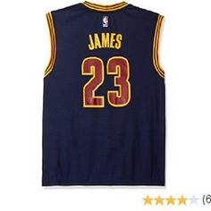 d6abb4fb553a  NBA Cleveland  Cavaliers LeBron  James  23 Men s Replica Jersey