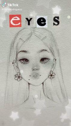 Indie Drawings, Art Drawings Sketches Simple, Pencil Art Drawings, Drawing Tips, Art Inspiration Drawing, Cartoon Art Styles, Art Sketchbook, Art Tutorials, Cute Art