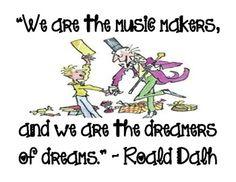 Roald Dahl Inspirational Quote