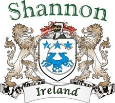 Shannon coat of arms. Irish coat of arms for the surname Shannon from Ireland. View your coat of arms at http://www.theirishrose.com/#top_banner or view the Shannon Family History page at http://www.theirishrose.com/pages.php?pageid=43