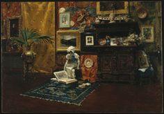 Studio Interior by William Merritt Chase  Published ca. 1882