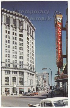 McKay Tower and Monroe - late 1950s