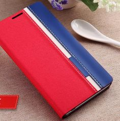 Galaxy Note 4 - Crisp, Smart Tri-Color Wallet Case in Assorted Colors - Thumbnail 4