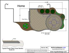 Affordable Patio With Circle Paver Kit - Patio Designs & Ideas