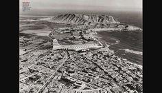 Barranco - Chorrillos, 1943. Foto: Fernando Sarmiento