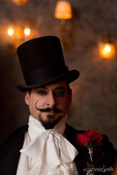 """The Edwardian Ball's annual Edward Gorey inspired festivities from Vau de Vire Society and Rosin Coven returned to L.A.'s Fonda Theater featuring a stage production of Gorey's short story, """"The Doubtful Guest."""""""