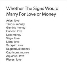 All for the love! I'm a libra for gods sake we're natural born charmers and love chasers